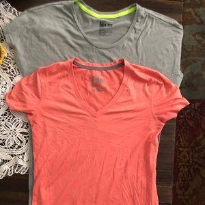 Bundle of two dri-Fit nike shirts